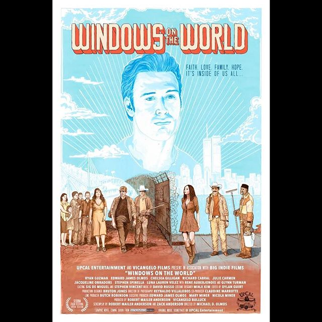 Thrilled to announce the WINDOWS ON THE WORLD Premiere at the Sedona International Film Festival on February 24th, 2019. A heartfelt thanks to our talented cast and crew who brought this story to life. We are so excited to share this film with the world! @upcalentertainment @sedonafilmfestival