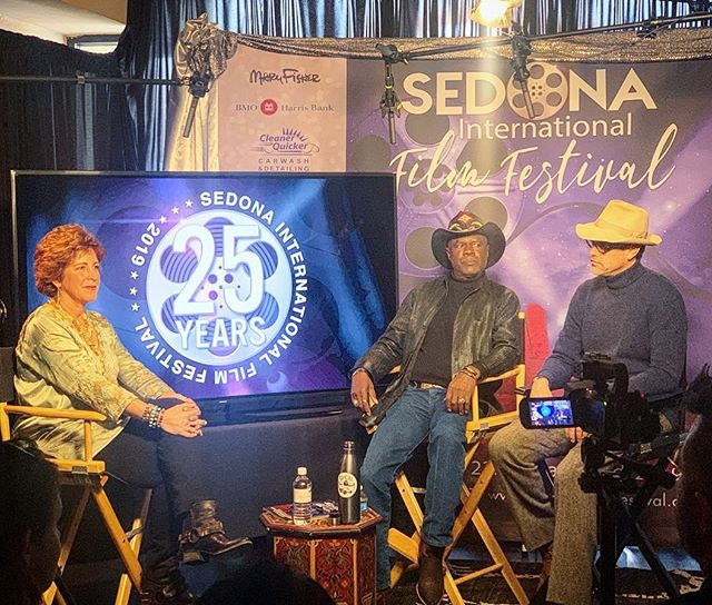 Live Q&A with Writer/Producer Robert Mailer Anderson and Actor Glynn Turman streaming now at Sedona Film Festival's Facebook Page!! https://www.facebook.com/SedonaInternationalFilmFestival/  @sedonafilmfestival @upcalentertainment