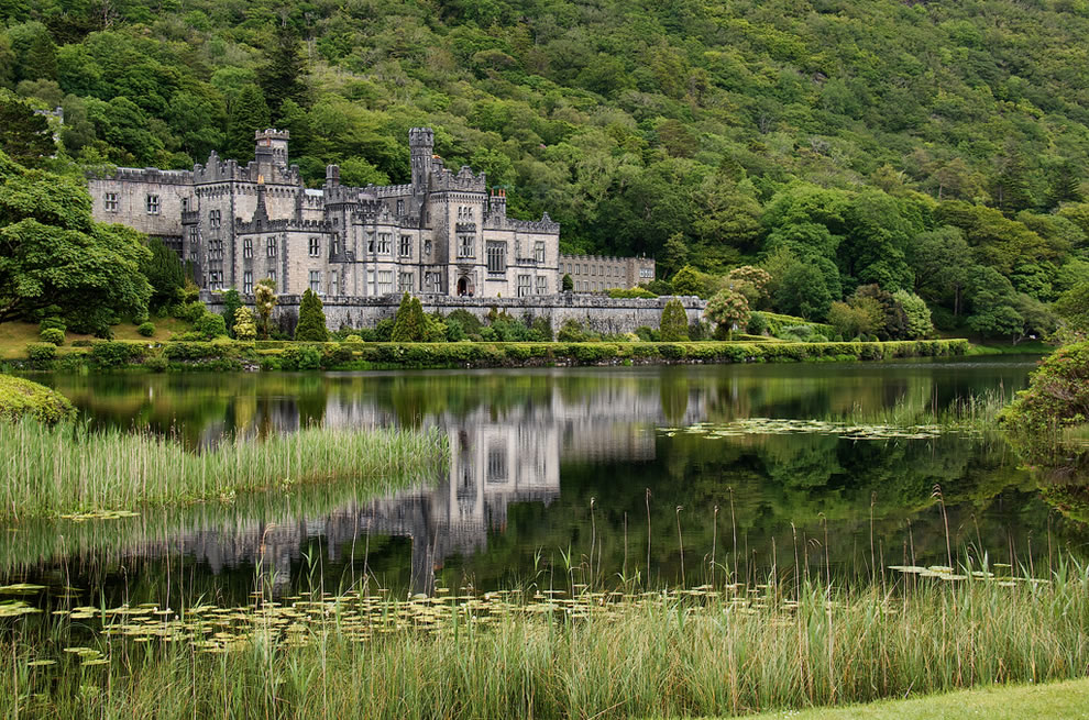 The magnificent Kylemore Abbey