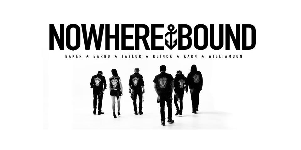 """NOWHEREBOUND - Dylan was asked to fill in as a bass player on Nowherebound's first full band European tour in January 2015. Shortly thereafter he was fixed as a permanent member. In Spring of 2015, Dylan played his part in recording Nowherebound's fourth full length record, titled """"All We Got Is Everything To Lose"""" and a 12 inch acoustic split with their European friends """"Rock Shit Hot"""" along with an acoustic European tour to boot. In 2016 Nowherebound released their fifth full length album, titled """"Hearts and Arrows"""" with two European tours to support, one in the summer of 2016 and one in the spring of 2017. In 2018 Nowherebound recorded their sixth full length album which is slated for a fall release in 2019. Nowherebound is still a rockin!"""