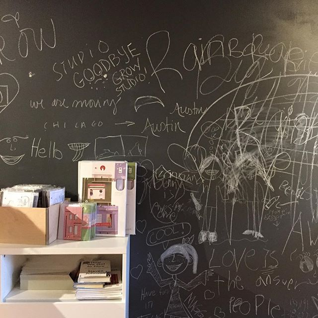 A Lille huset dollhouse party complete with chalkboard wall for all the creative beauties that came #childhoodunplugged #creative #kids #noscreens #learnthroughplay
