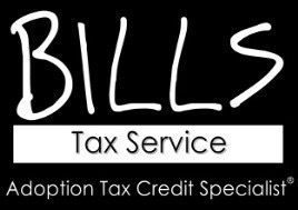 Bills Tax Service - We are Enrolled Agents, Adoption Tax Credit Specialists and have been blessed by adoption. We speak and exhibit nationwide after tax season to help educate adoptive families, caseworkers, agencies and adoption attorneys about the adoption tax credit.