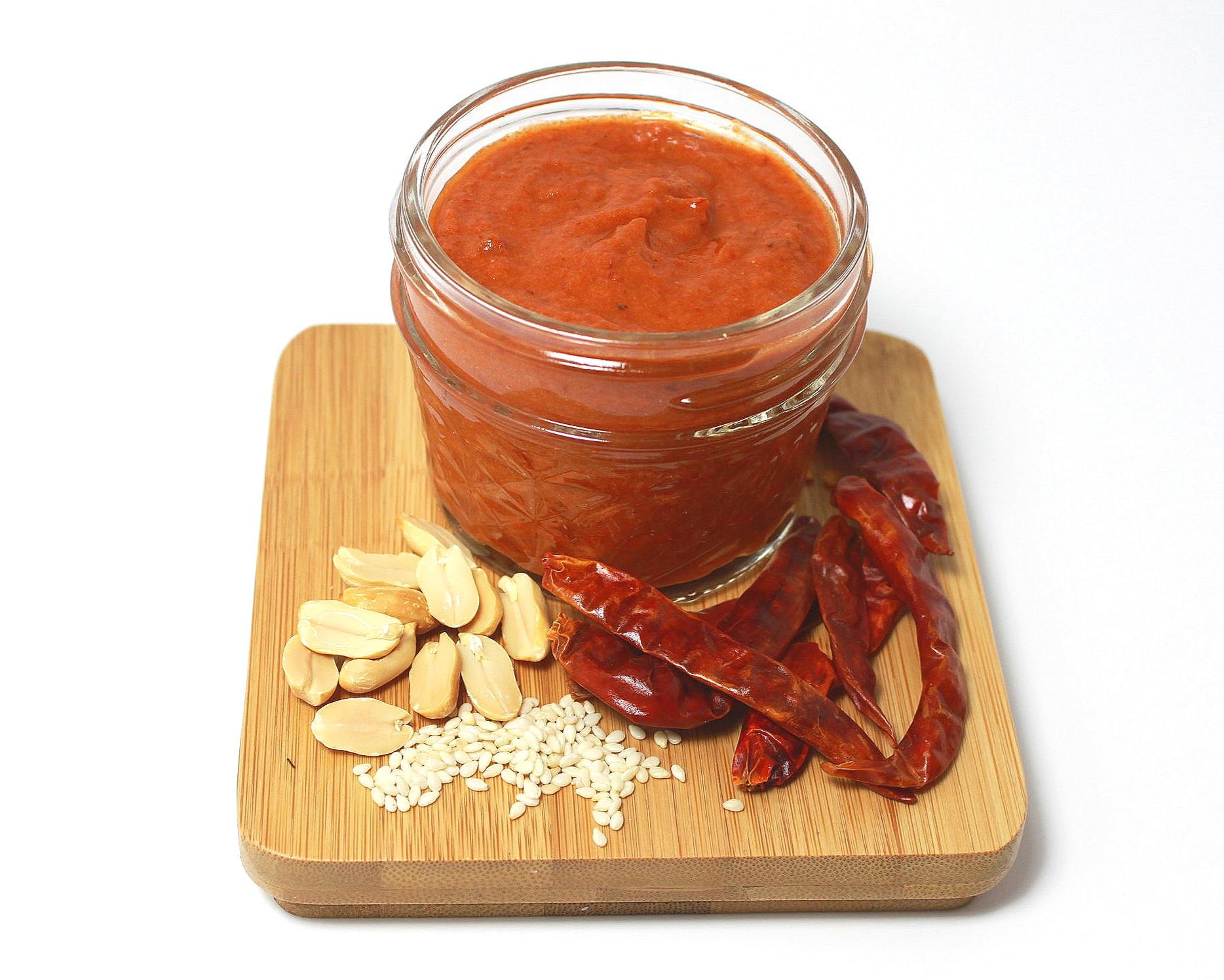 MACHA ARABE ЁЯМ╢я╕П - Tomato, Sesame, Chile de ├Бrbol.