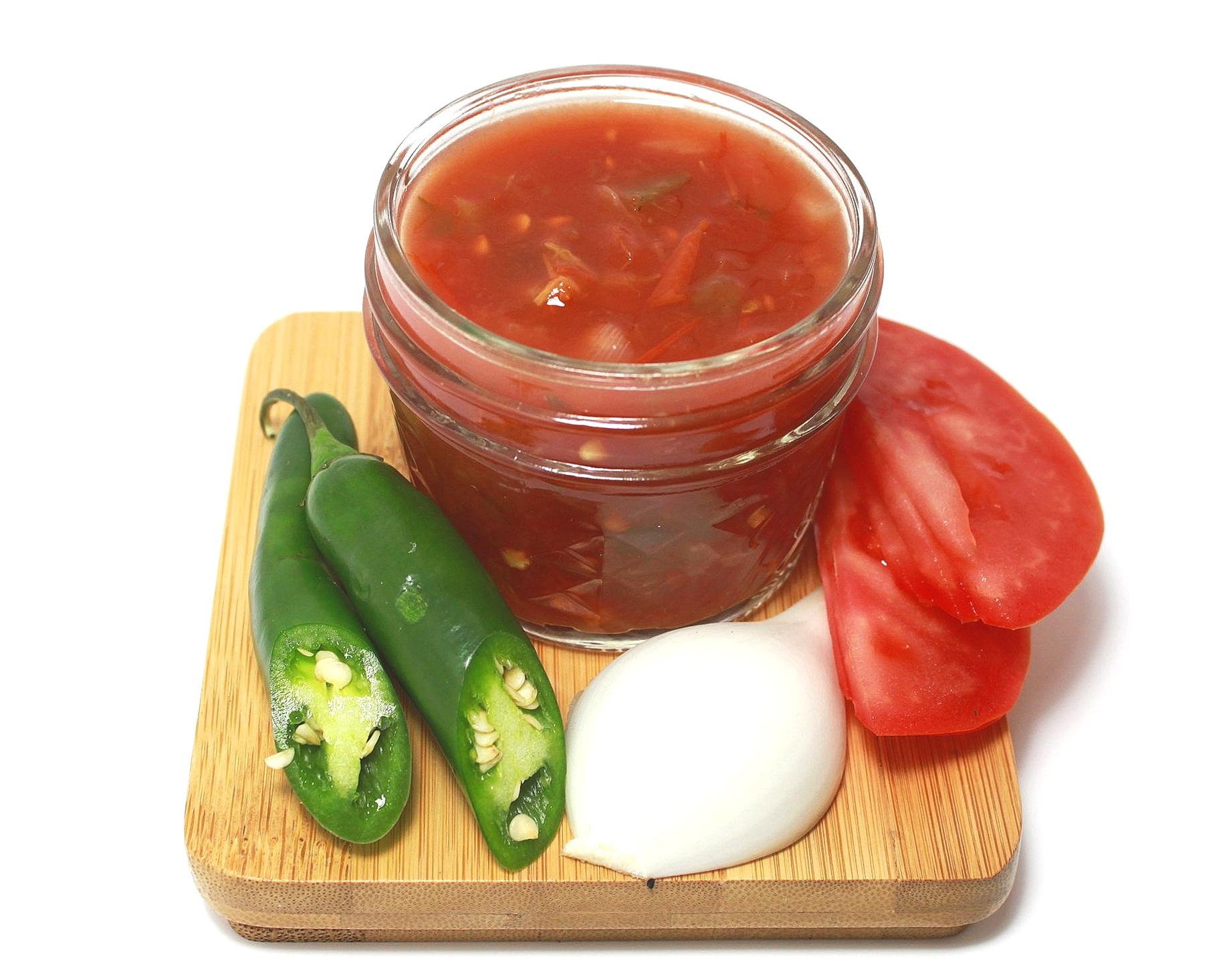 TEX MEX ROJA - Tomato, Onion, Jalapeno, Cumin.