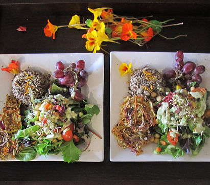 From the backyard to the table - Gourmet meals prepared by Chef Michelle Premura