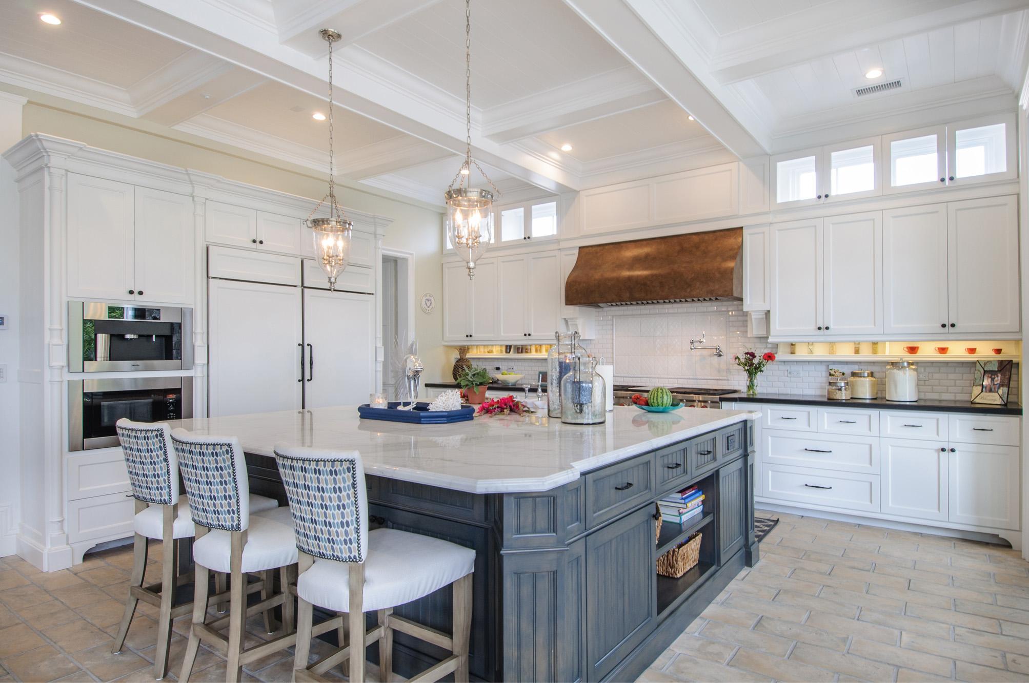 kitchen - marble island - barstools.jpg