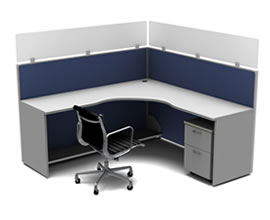 Stackers™ Cubicle Extender Panels