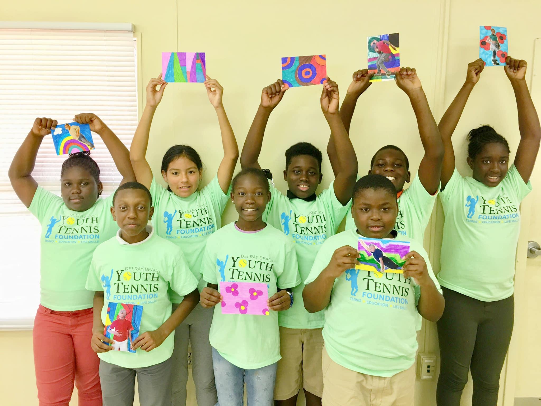 volunteer art class Delray Beach.jpg