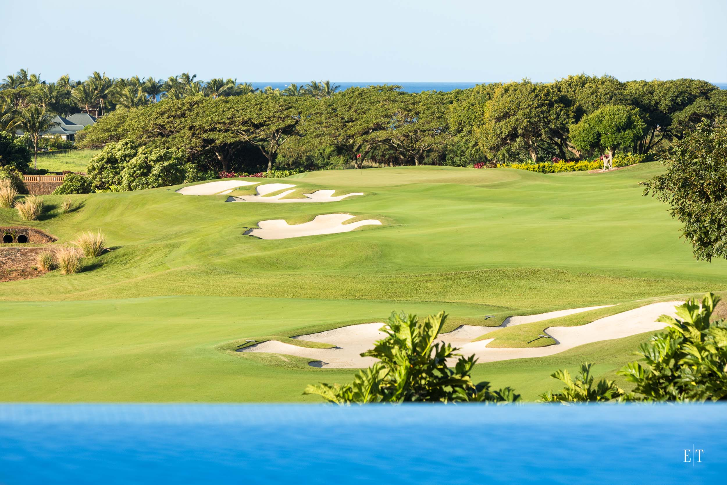 Fabulous views of the ocean and golf course at Kukuiula