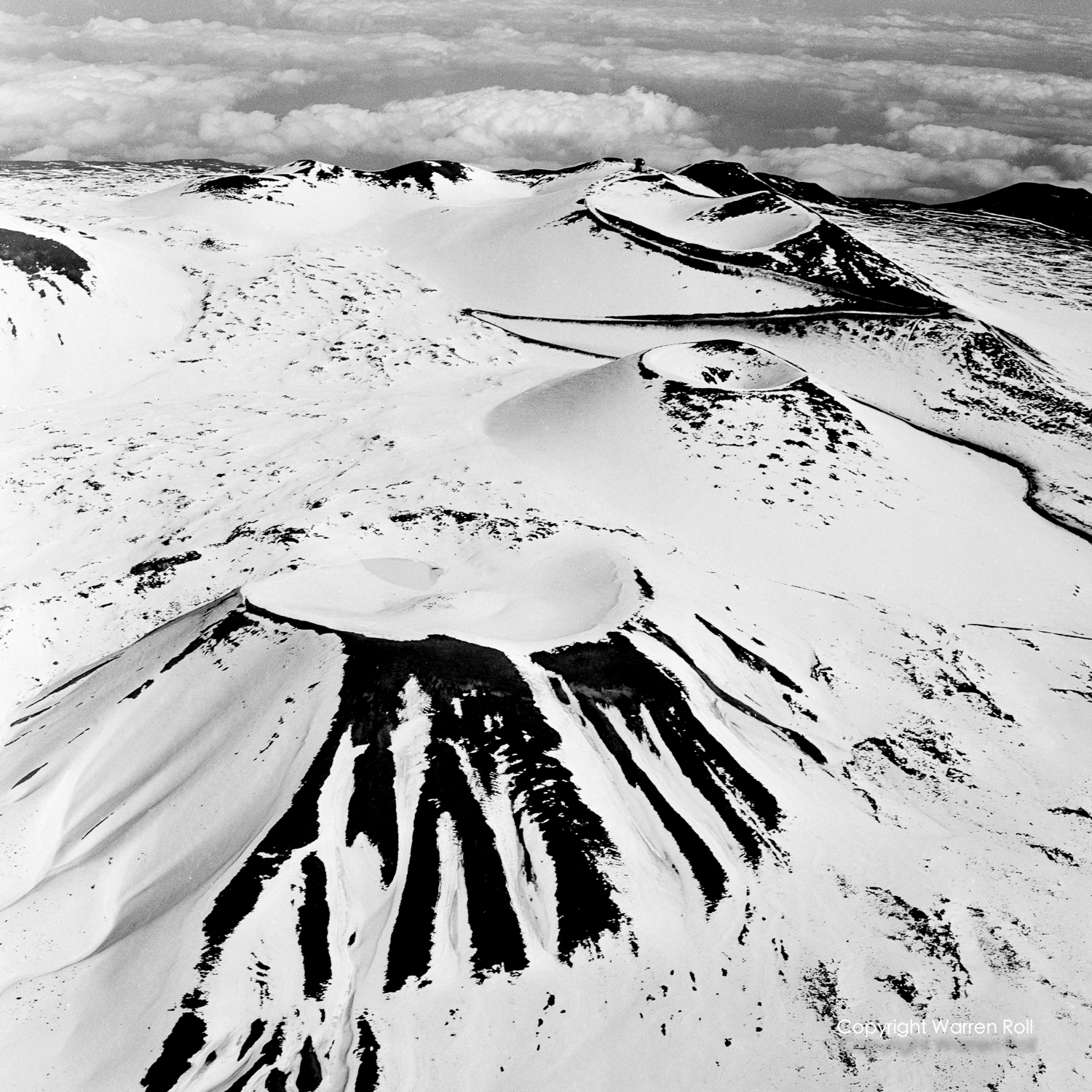 Mauna Kea Summit 1968 taken by Warren Roll/Star-Bulletin