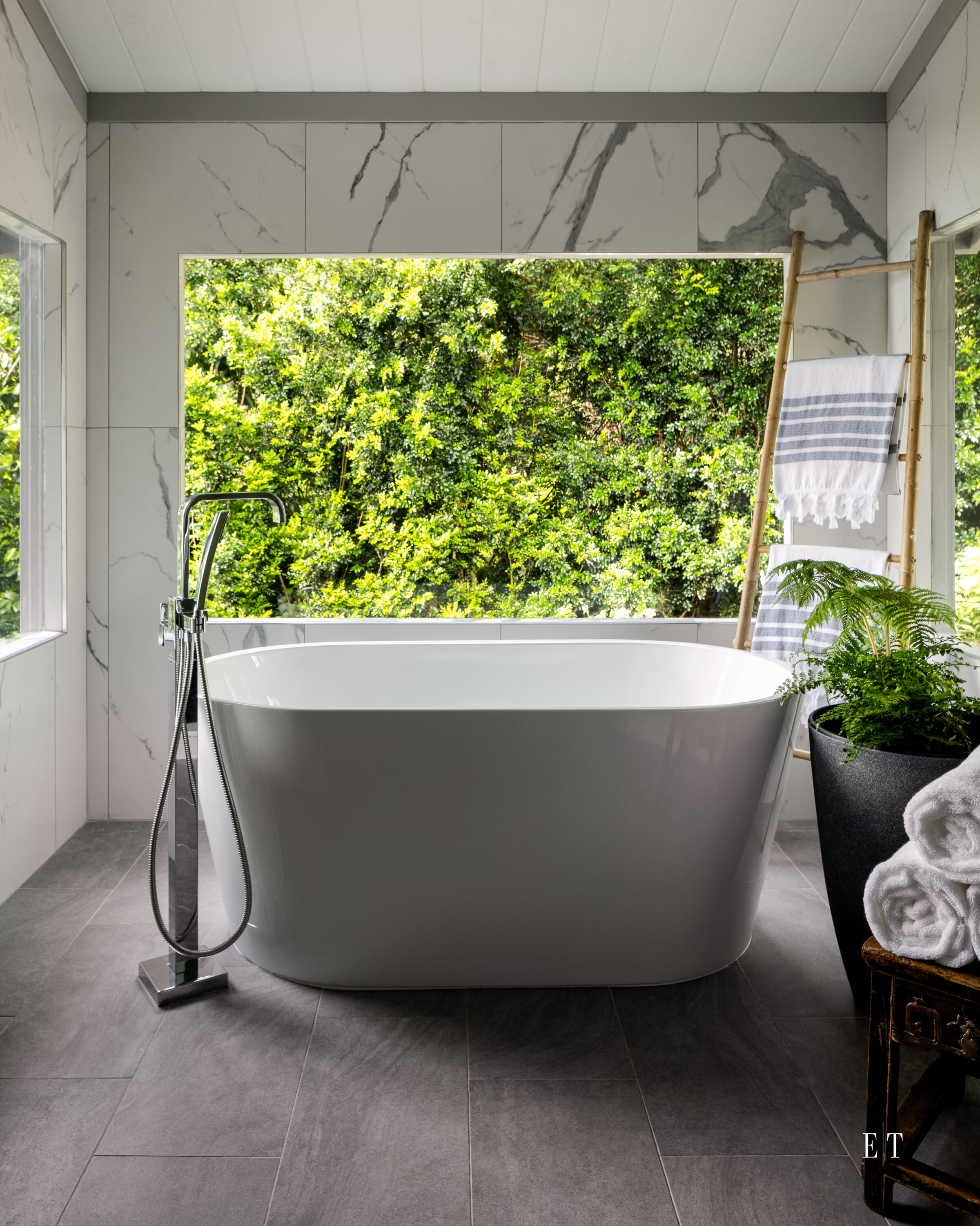 Master Bath | Orchid House | Drake Interiors | Big Island | Hawaii