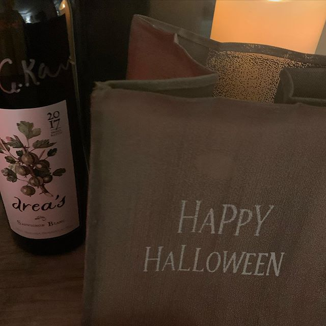 #happyhalloween 🎃 .... Cheers to a fun and safe night! #vqawines