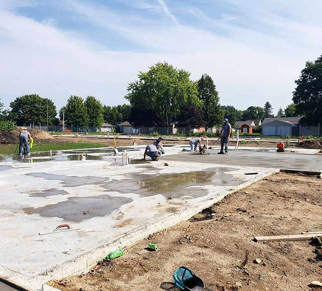 Crews are working hard at The Reserve this week, finishing pouring the concrete.  Premier Concrete has done a great job and we can't wait to start framing! Follow our page to keep updated on progress at The Reserve. . . . #thereserve #reserveliving #townhomes #townhomesatthereserve #welcomehome #thereservegarner #garnertownhomes #garnerliving