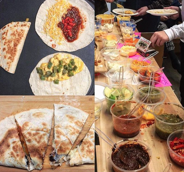 Experimental quesadilla bar. I'm in! — LA Food Fest | LA's original tasting event | June 29, 2019 at Santa Anita Park, Arcadia, CA