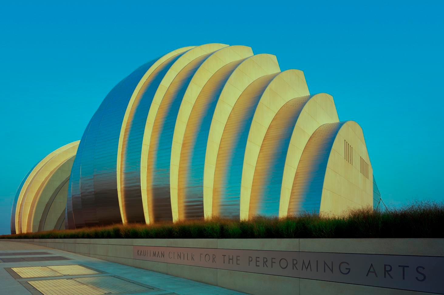 Kauffman center - Photo courtesy of Tim Hursley. Image are owned by the Kauffman Center.