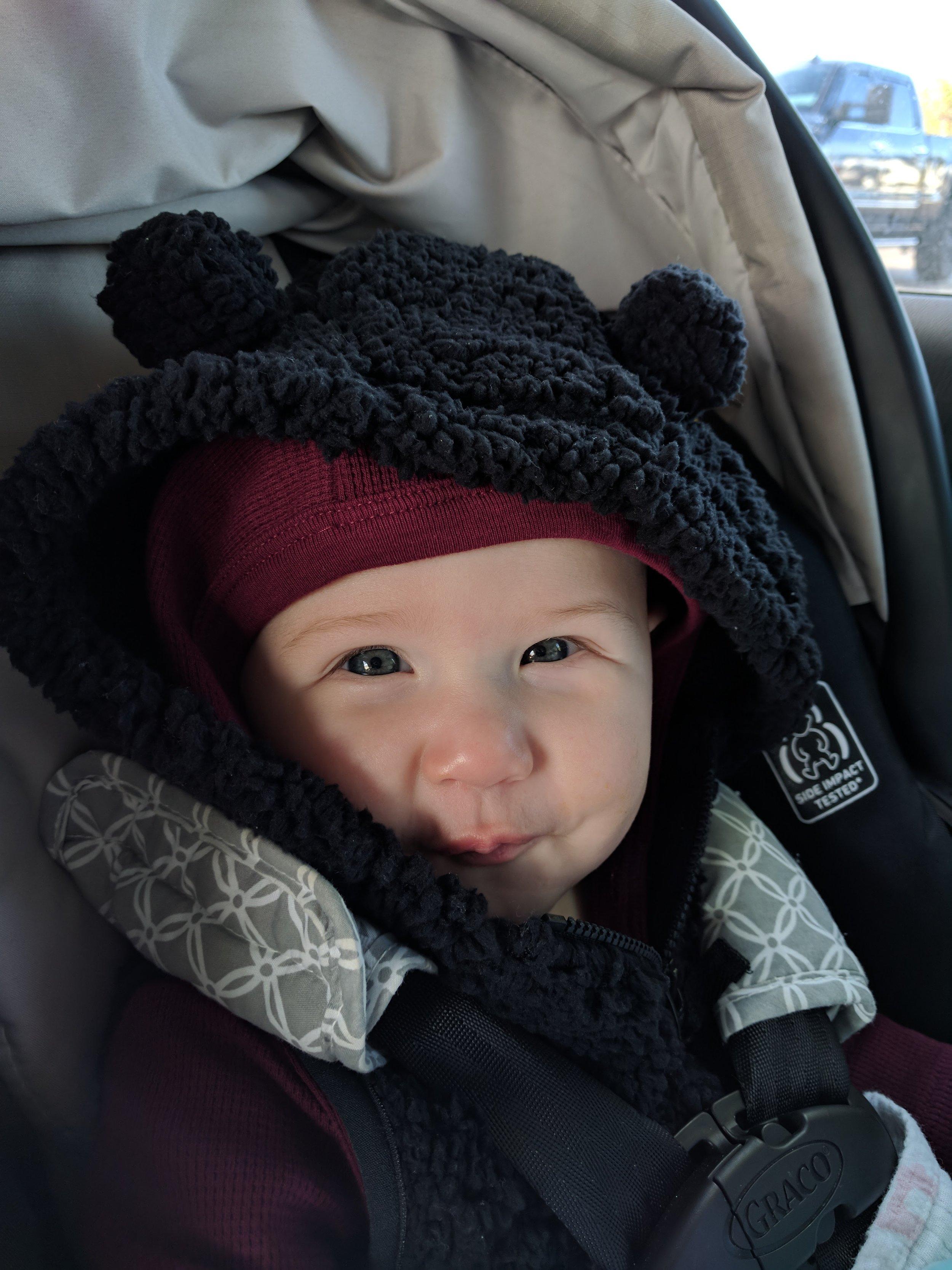 Aurora at 6 months.
