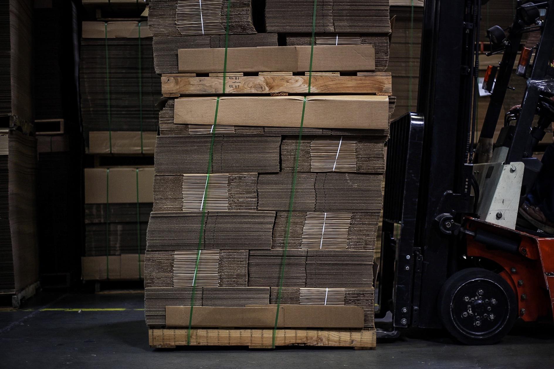 Stock & Custom Corrugated Boxes