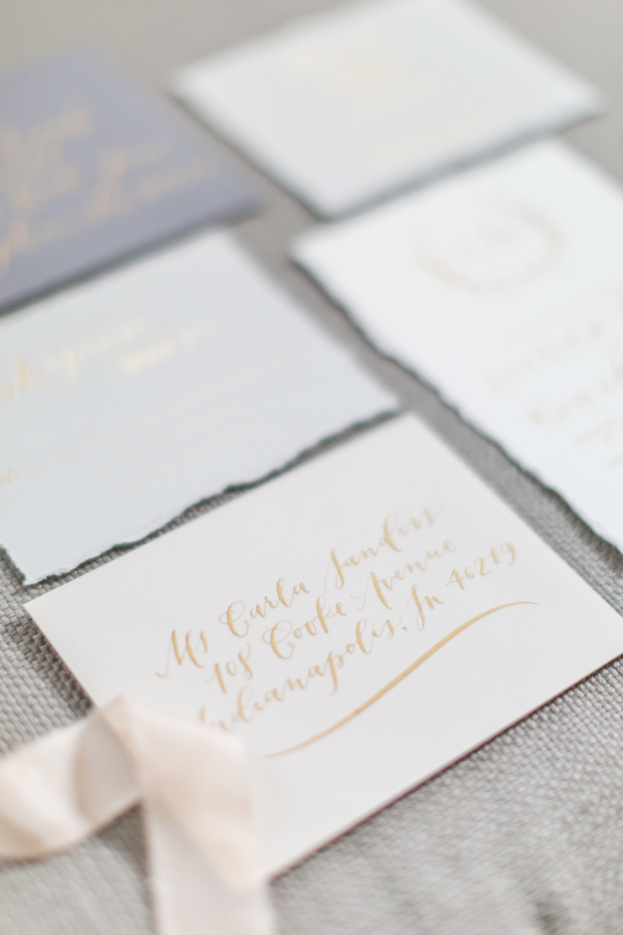 Invitations & Envelopes | Modern Calligraphy by Hoopla! Letters