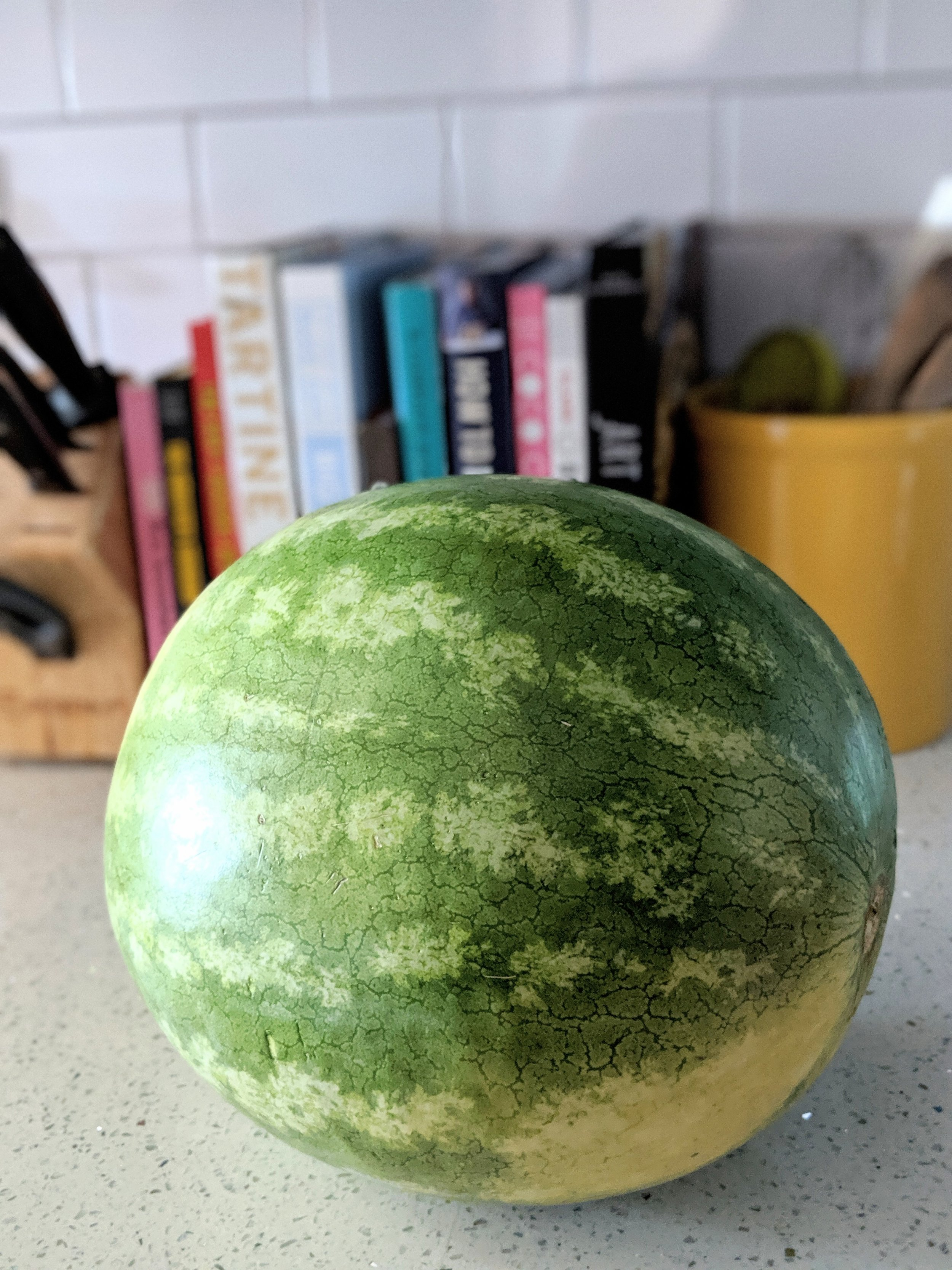 The watermelon in question