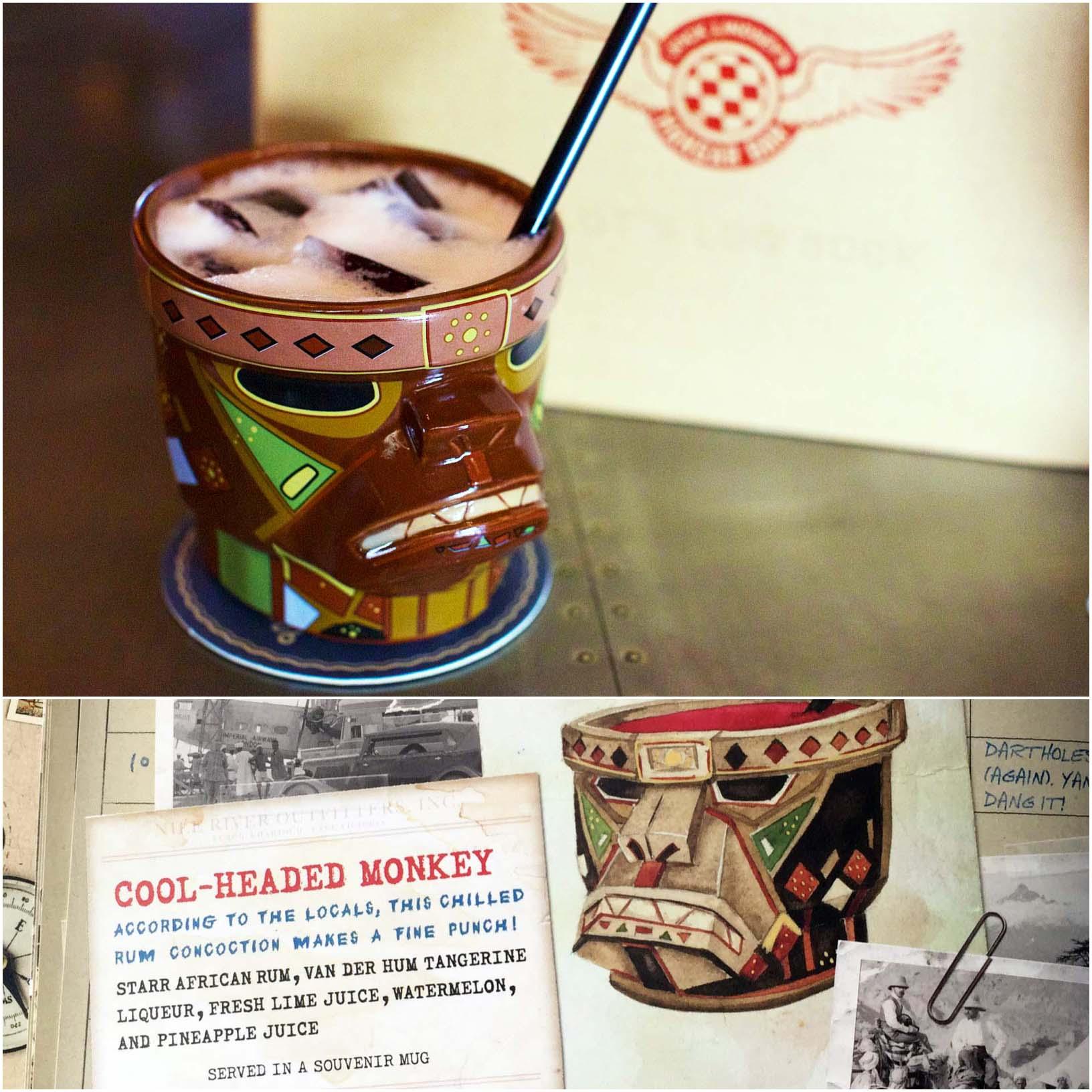 """COOL-HEADED MONKEY""  Jock Lindsey's Hangar Bar, Disney Springs, Walt Disney World — Orlando, FL"