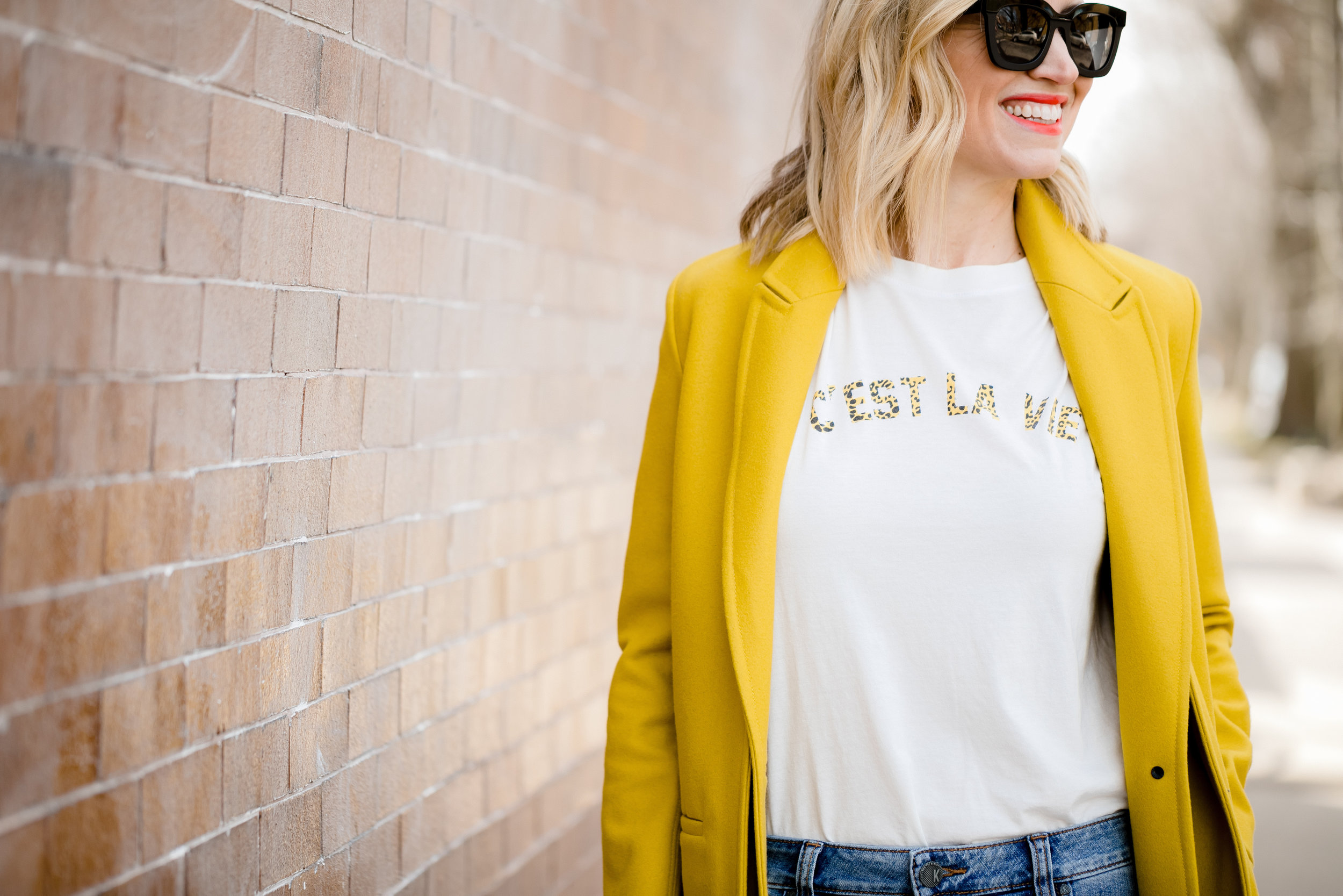 Jacket-  Rag & Bone  T Shirt-  Evereve   Photo-  Nicole Defilippis Photography