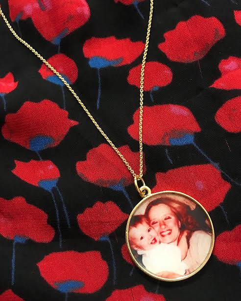 This is one of my most beloved pieces of jewelry, given to me by a dear friend on my 40th birthday. Each locket is lovingly made by  The Locket Sisters  . Check out their site for beautiful locket options. In addition, 25% of your purchase goes to charity.