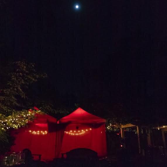 the red tent. photo-  Sarah Matheson