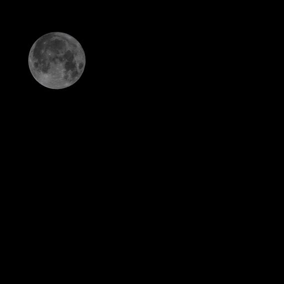 the harvest moon. photo-  Sarah Matheson