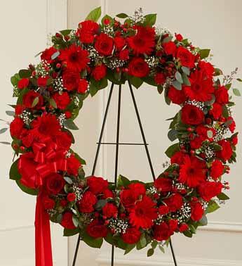 Standing Wreath 5