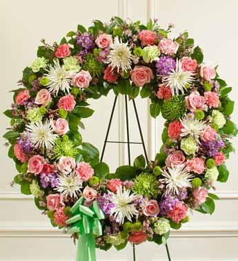 Standing Wreath 8