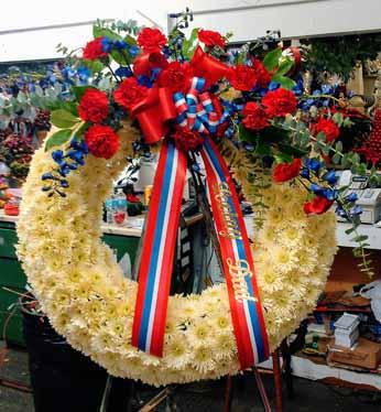 Standing Wreath 10