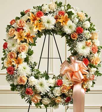 Standing Wreath 14