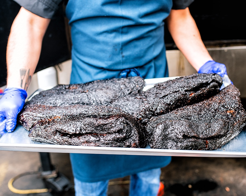 Salt + Smoke - When it comes to St. Louis Barbecue, it's hard to find one better than SALT+SMOKE. Fresh pork, beef, turkey, and chicken on a roll, some salad, and your guests will be happy. Why stop there? Mix your meat choices with up to 4 sides, and crazy affordably! Also, if you just want to plan a wedding and not spend a ton of time deciding on a bar service too, they can bring a bar to your venue if they don't have one. Staff is friendly, food is great, menu is affordable. What are you waiting for? Check out their catering menu here:https://saltandsmokestl.com