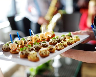 Championship Catering - Championship Catering really impressed me at a wedding a while back, and I can't get them out of my head. We were at Valley Farms in Foristell, and they came out earlier than most caterers would. What really impressed me was that they actually brought a mini stovetop so that they could cook foods that wouldn't hold well on-site. So, they brought out a large pot, boiled the noodles and made the pasta right there. While the food was absolutely delish, it was the crazy amount of aforethought and professionalism that stood out to me.https://www.championshipcatering.com/catering/weddings