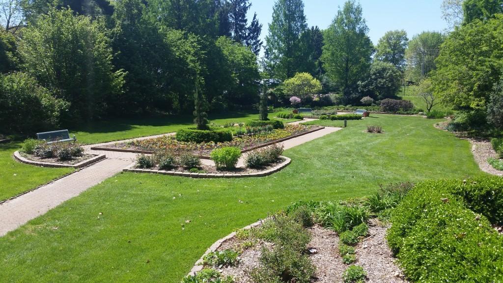 The Rau Garden at Blanchett Park, St. Charles, MO