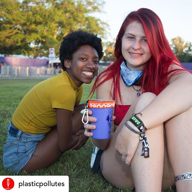 Thanks to @plasticpollutes and @bonnaroo for promoting #BYOBottle and #refillrevolution! - - - - Repost / / @plasticpollutes 📸 @antimodel  We're here at @bonnaroo celebrating the ⭐️ 6th ⭐️ year of #refillrevolution which has diverted MILLIONS of single-use plastic cups and water bottles from landfill 🌎 In the spirit of Refill Revolution and new this year, Roo has joined the #BYOBottle movement 💧Learn more by tapping the link in our profile ☀️ @diannacat13 @byobottle #bonnaroo #plasticpollution #plasticpollutes #savetheplanet