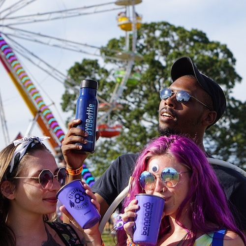 Festival season is heating up! 🌟 Are you heading to an upcoming #BYOBottle festival? Check out the list below and be sure to pack your reusable water bottle!  @splendourinthegrass  @starbellyjam  @folknsoak  @lollapalooza  @elementmusicfestivalbc  @outsidelands  @tailgatefest  @brisbanefestival  @seahearnow  @aclfestival  @theohanafest  @wildwoodrevival  Remember to check your festival FAQ page for specific water bottle guidelines. Check our full list of BYOBottle festivals & venues, or join us at BYOBottle.org  Thanks for rocking your reusable bottle this festival season! 🙌💧 📸 by Weston Borg