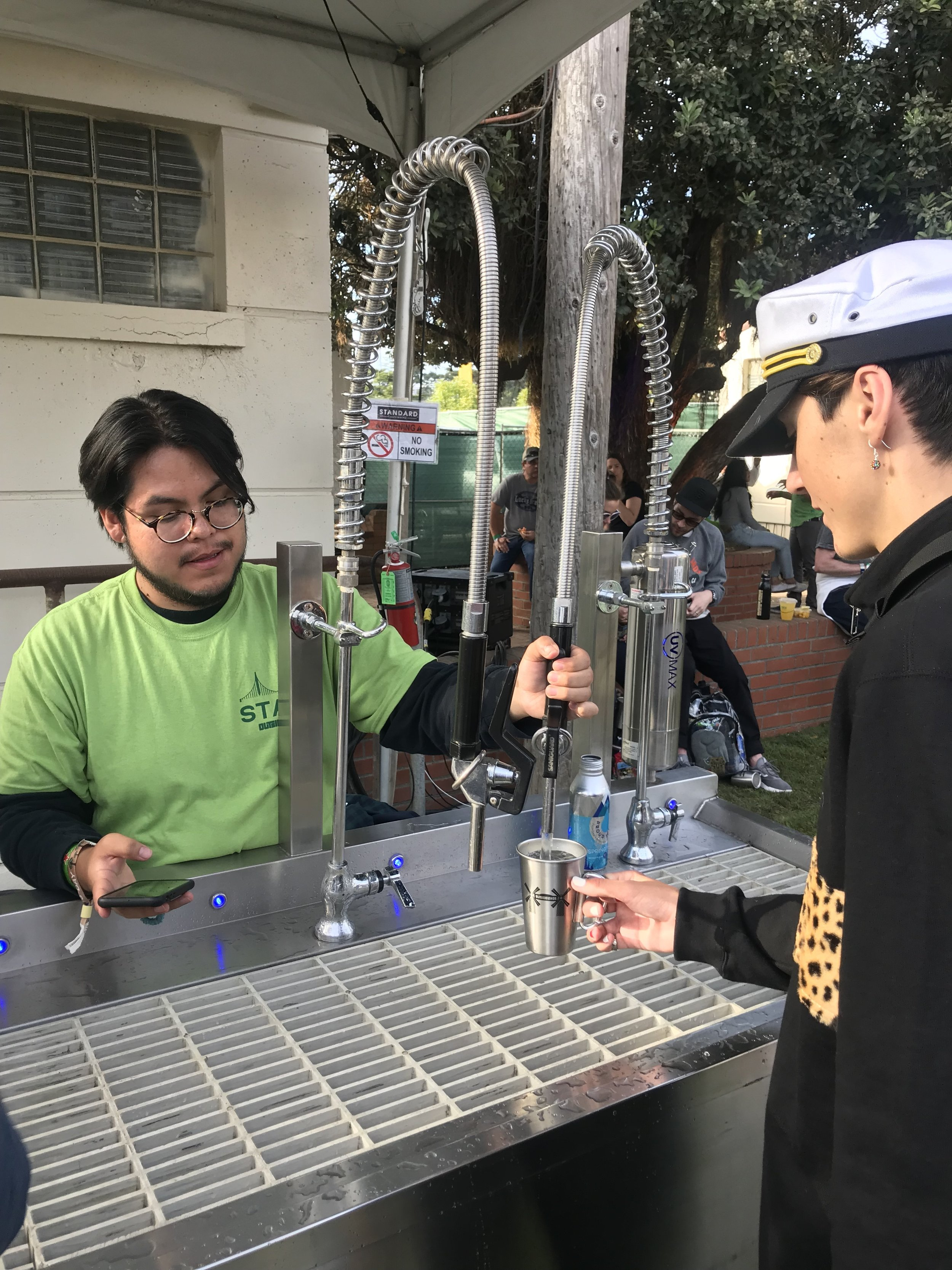 Event Water Solutions at Outside Lands