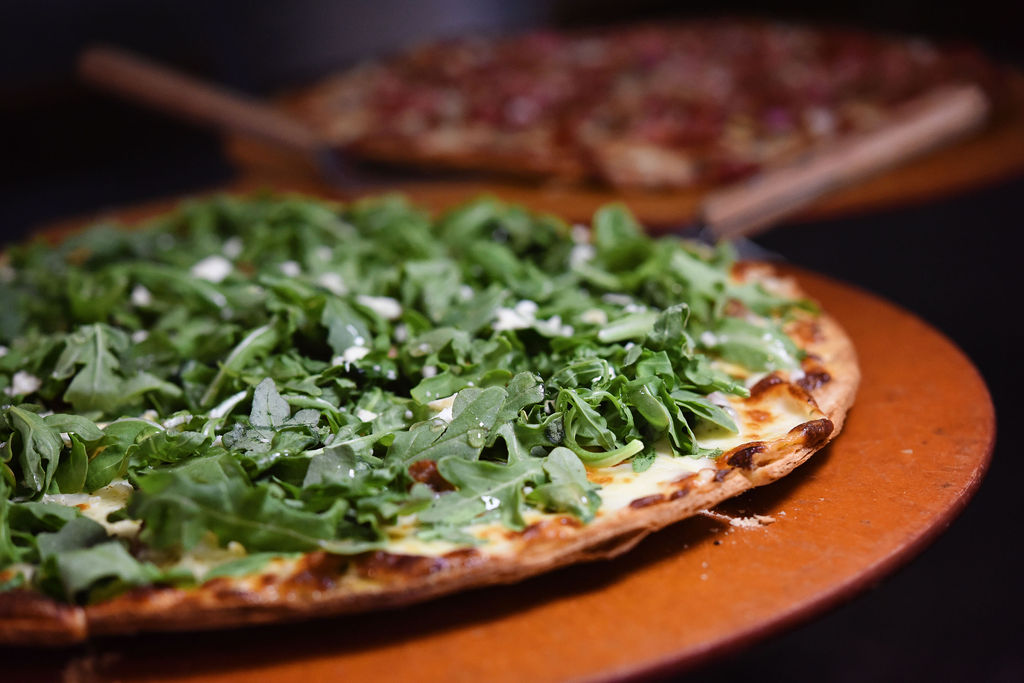 Thriving Thistle Bistro Pizza With Greens