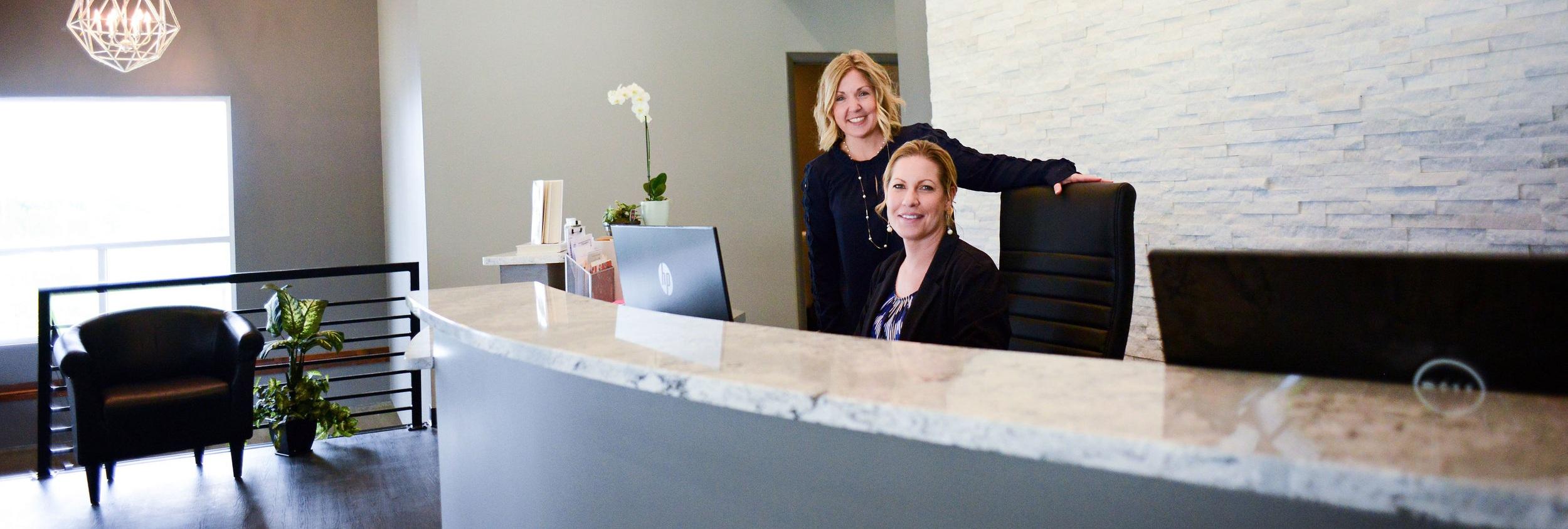 Thriving Thistle Wellness Center Desk