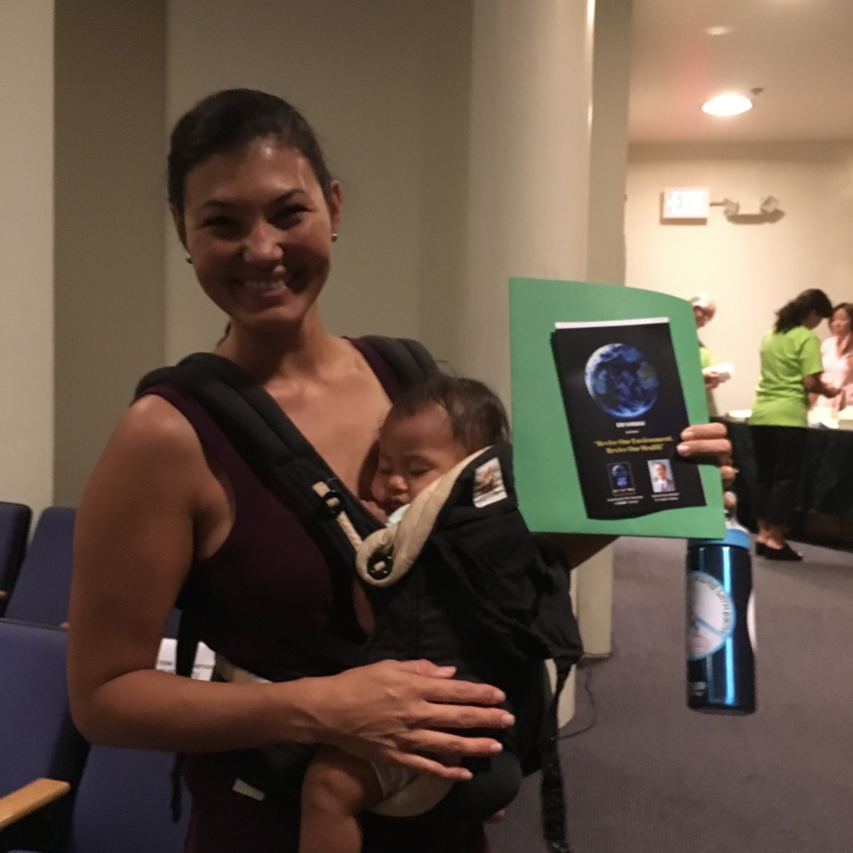 Photo: Sustainable Coastlines Hawaii , one of many Community Partners who attended our Screening event.