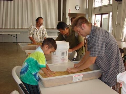 Children can get involved and make EM® Bokashi