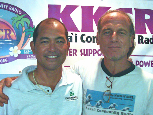 """Hiro & Kamran dialogue with listeners about Effective Microorganisms. It's use on Kauai, the State of Hawaii, and recent EM�lecture """" Micro-organisms FOR DUMMIES """" sponsored by Whole Foods Market in conjunction with EM�affiliate offices at Glendale Civic Auditorium"""