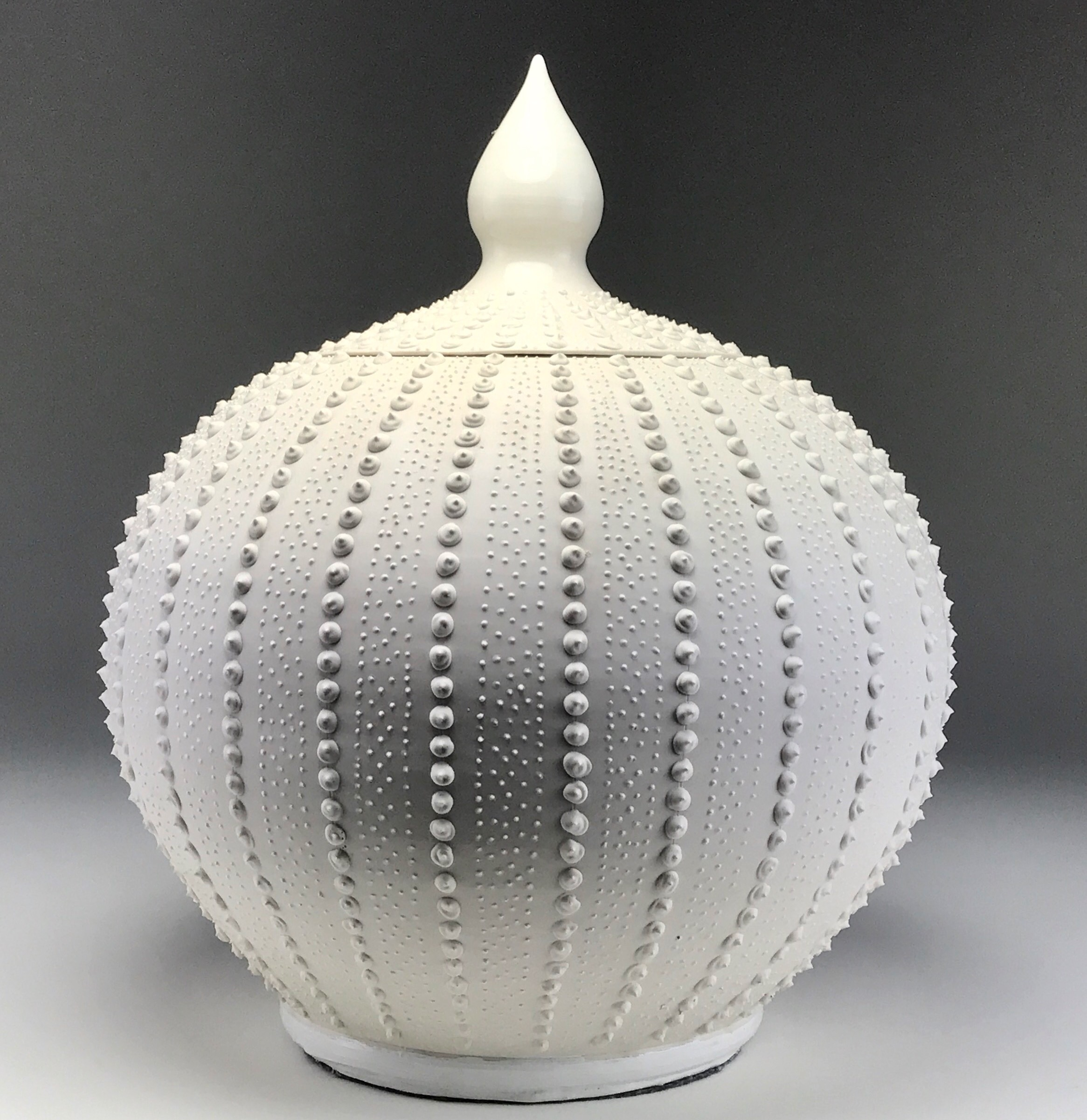 Large Sea Urchin Jar