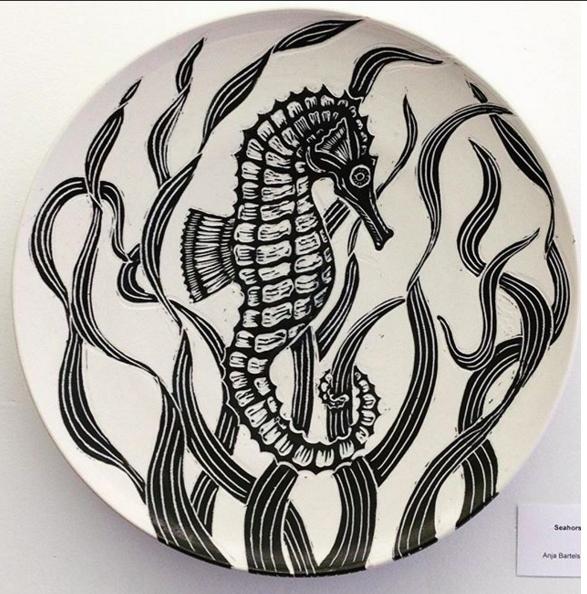 Seahorse Platter