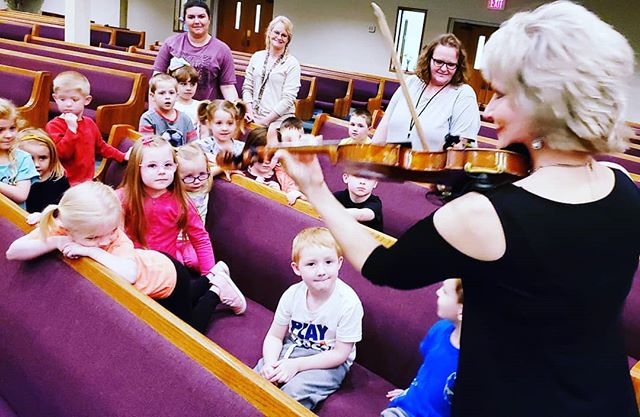 Before leaving Indiana, we led worship for the daycare children. So fun!