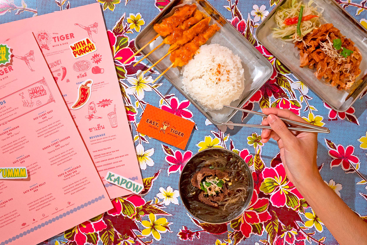 EASY TIGER  Thai food with a kick