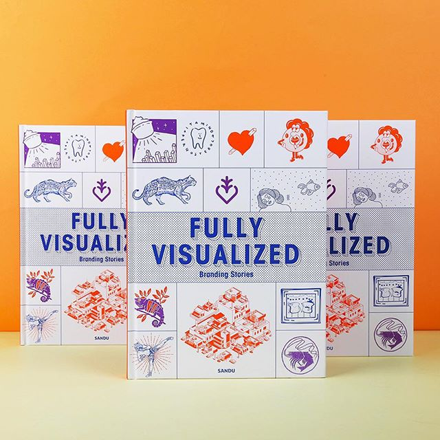 Fully Visualized: Branding Stories features over 80 fully-visualized branding designs from 80 designers and agencies, Serious Studio included. We're proud to have 2 of our projects featured in this publication: @easytigerph and @pompomsph
