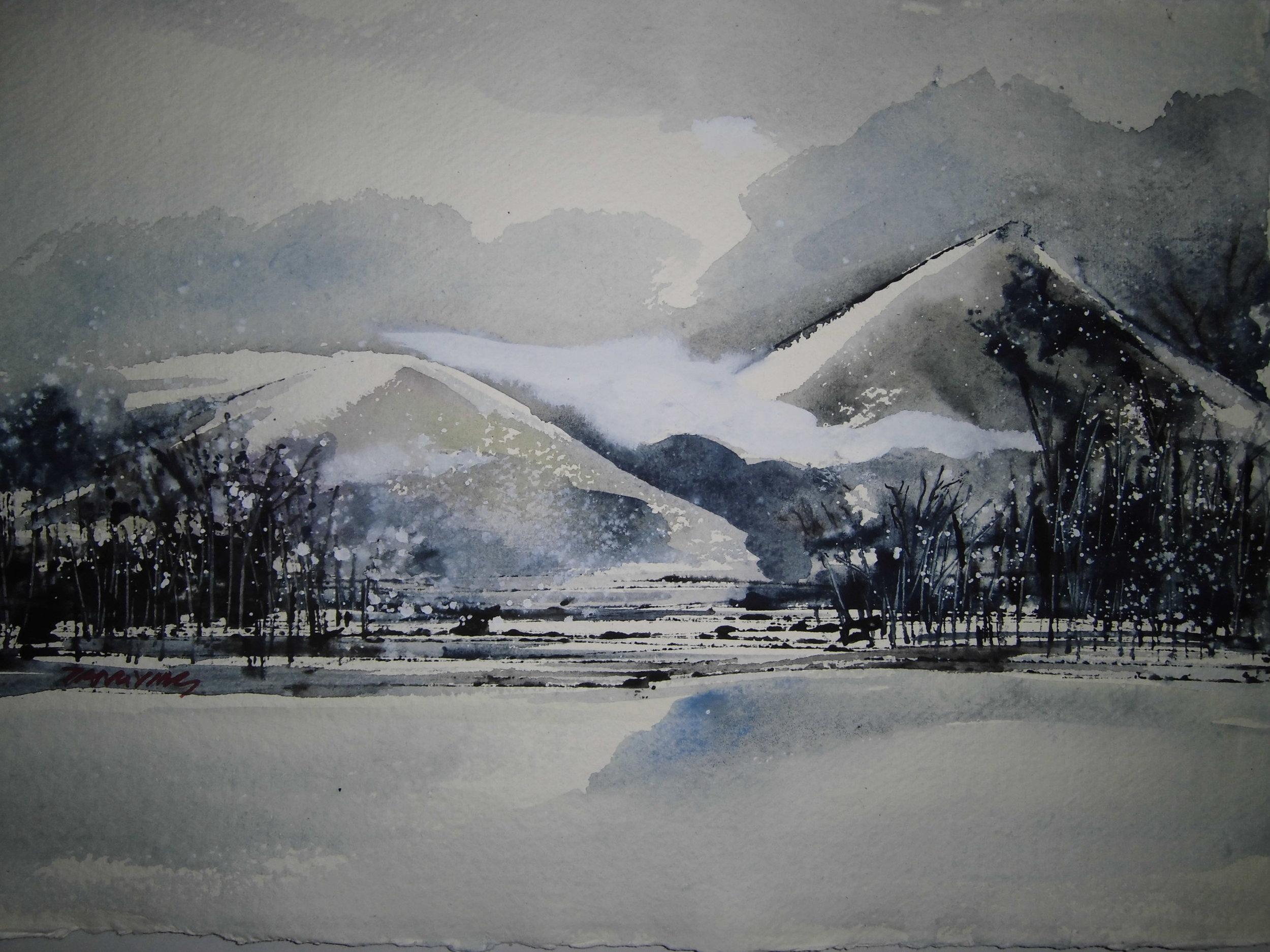 Ying Tang,Landscape 1,30X40cm.JPG