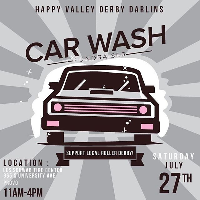 You KNOW your car needs it. Come out and support! 🧼 🧽 🚗
